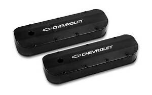 Holley 241 279 Chevy Bowtie Fabribcated Valve Covers Big Block Chevy V8 S