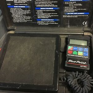 Blue Point Made By Snapon 98210 Accu Charge Ii Programmable Refrigerant Scale