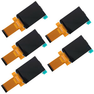 5pcs 2 4in Lcd Screen Module Plugged In 40pin Compatible Serial Port With Touch