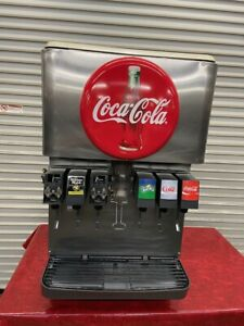 6 Head Flavor Soda Fountain Ice Storage Dispenser 115v Cornelius Df150bc 3933