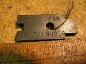 Ford New Holland Otc Fnh00014 Power Lift Control Gauge Block 5610 7810 Tractor
