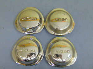 Set Of Four Original Jaguar Xke E Type S2 S3 Wire Wheel Knock Off Spinners Caps