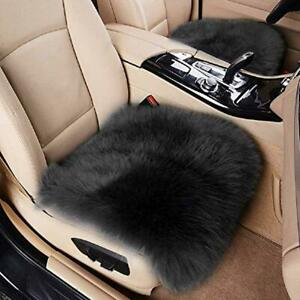 Big Ant Sheepskin Seat Covers Authentic Australian Car Seat Pad Soft Long Wool