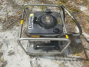 Hurst jaws Of Life Rescue 5000psi Hydraulic Pump Gas Engine