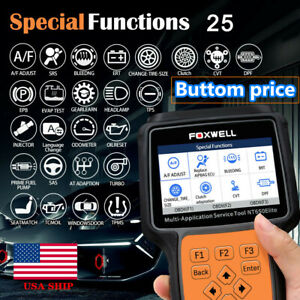 Foxwell Nt650elite Auto Diagnostic Scanner Obd2 Abs Epb Dpf Tpms Update Of Nt650