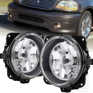Fits 2000 2004 Ford F 150 F150 Harley Davidson Left Right Pair Clear