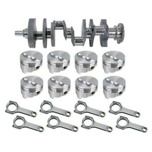 Forged Small Block Chevy Rotating Assembly 421 Flat Top 400 Main 6 Rod