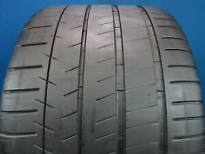 Used Michelin Pilot Super Sport Zp 335 25zr 20 6 7 32 Tread 1956f