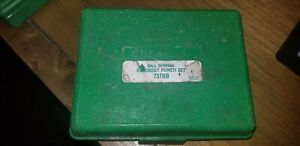 Greenlee Knockout Punch Hand Tool Set 737 737bb