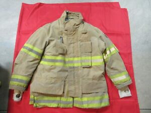 Mfg 2010 Fire dex 42 X 32 Turnout Gear Firefighter Bunker Jacket Rescue Fire