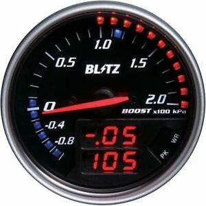 Blitz Obd Connection Fld Meter Boost Boost Sensor Included 15201