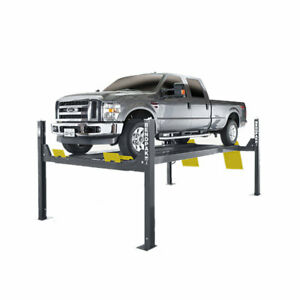 Bendpak Hds 14x 4 post Lift 14000 Lb Capacity Extended Limo Style Auto Lift