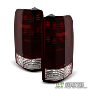 Smoked For 2007 2011 Dodge Nitro Tail Lights Lamps Replacement 07 11 Left right
