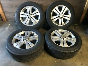 Mercedes Benz Oem Gl450 Ml350 Ml500 Front Rear Set Rim Wheel And Tire 19 Inch