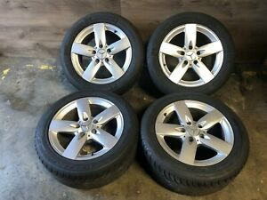 Mercedes Benz Oem R171 Slk280 Slk350 Front Rear Set Rim Wheel And Tire 16 Inch
