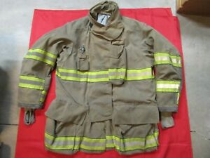 Mfg 2012 Globe Gxtreme 48 X 35 Firefighter Turnout Bunker Jacket Fire Rescue