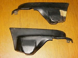 Nos Pair 1959 Impala Convertible Front Fender Extensions