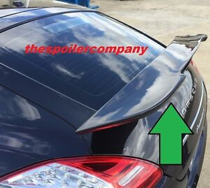 For 2014 2017 Porsche Panamera M Style Painted Rear Wing Spoiler Non Turbo