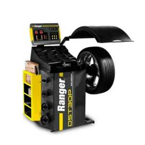 Ranger Dst30p Wheel Balancer Calibrates Wheels And Tires