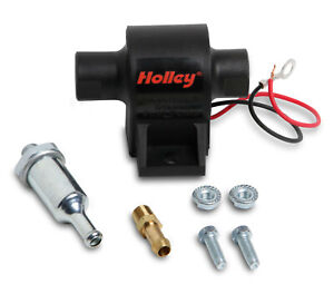 Holley 12 427 Mighty Mite Electric Fuel Pump 32 Gph 4 7 Psi Made In Usa