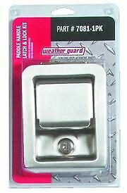 Weatherguard 7081 1pk Tool Box Lock