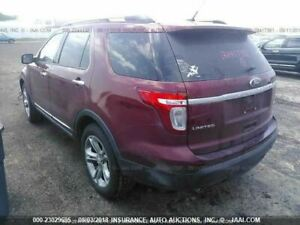 2011 2014 Ford Explorer Console Front Floor Limited W O Select Shift 665421
