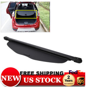 Retractable Trunk Cargo Cover Security Shield For 2014 2018 Nissan Rogue Sl Usa