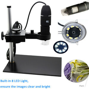 1000x Magnification Usb Digital Microscope Magnifier With Stand Holder J7k7