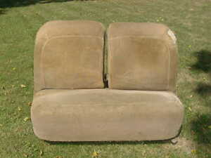 39 Ford Bench Seat Vintage Original Flathead Rat Rod 1939 Hot Rod Coupe Scta 38