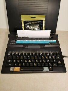 Canon Typestar 220 Portable Light Electronic Digital Typewriter