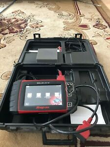 Snap On Solus Ultra Diagnostic Scanner 18 4 Usa Euro Asian