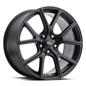 Jeep Grand Cherokee Trackhawk Replica Wheel 17x8 35 Matte Black 5x127 Qty 4