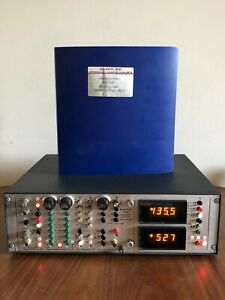 Bafco Inc Frequency Response Analyzer Model 916xh Two Channel Sweep Look