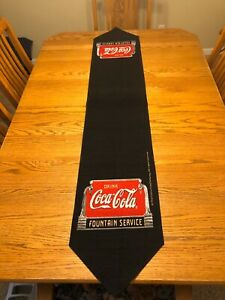 Vintage Coca Cola table runner (never been used. no box)