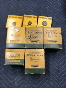 Ford Lincoln Mercury Nos Piston Rings 1958 1959 1960 1954 1955 1935 1940 1938