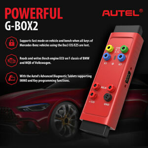 Autel G Box2 Tool For Mb All Key Lost Work Together With Maxiim Im608 Im508