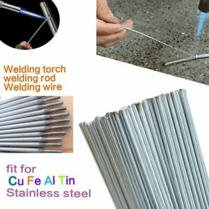Low Temperature Brazing Rods Aluminum Copper Welding Electrode Flux Cored New