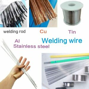 Aluminum Welding Electrodes Flux Cored Low Temperature Brazing Wire Easy Melt