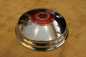 Packard Hubcap 12 3 4 W Cloisonne Medallion 1948 1950 No Dents Or Scrapes