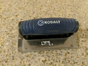 Kobalt 6 X 3 Concrete Groover Stainless Steel non slip Rubber Handle
