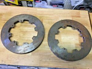 Wilwood Hd 40 Curved Vane Rotor Lh 1 25 11 75 Lot Of 2 Wil160 3846
