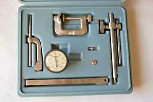 Ames 22a Universal Jeweled Dial Test Indicator Gage Set complete