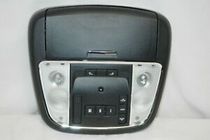 11 14 Dodge Charger Roof Overhead Console Sunroof Homelink Sunglass Black A2c23
