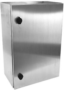 Yuco Yc 24x16x10 ss ul fe Ip66 Nema 4 Stainless Steel Enclosure Fully Enclosed