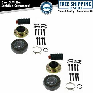 Rear Cv Prop Drive Shaft Joint Rebuild Repair Kit Set For 07 13 Jeep Wrangler Jk