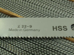 6 Fein z22 9 Hss Hacksaw Blades 8 l X 8t in For Industrial Reciprocating Saw