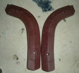 1968 1971 Ford Torino Ranchero Fairlane Montego Maroon Bench Seat Hinge Covers