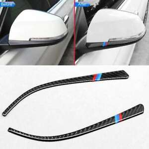 Auto Side Mirror Strip Trim Accessories Parts For Bmw F30 F34 F32 3 4 Series