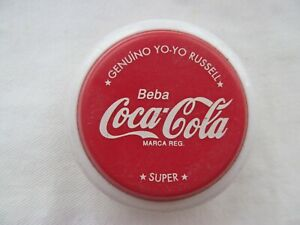 VINTAGE 1980  ADVERTISING COCA-COLA YO-YO RUSSELL SUPER MADE IN ARGENTINA Nro 2