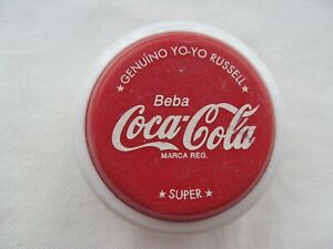 VINTAGE 1980  ADVERTISING COCA-COLA YO-YO RUSSELL SUPER MADE IN ARGENTINA